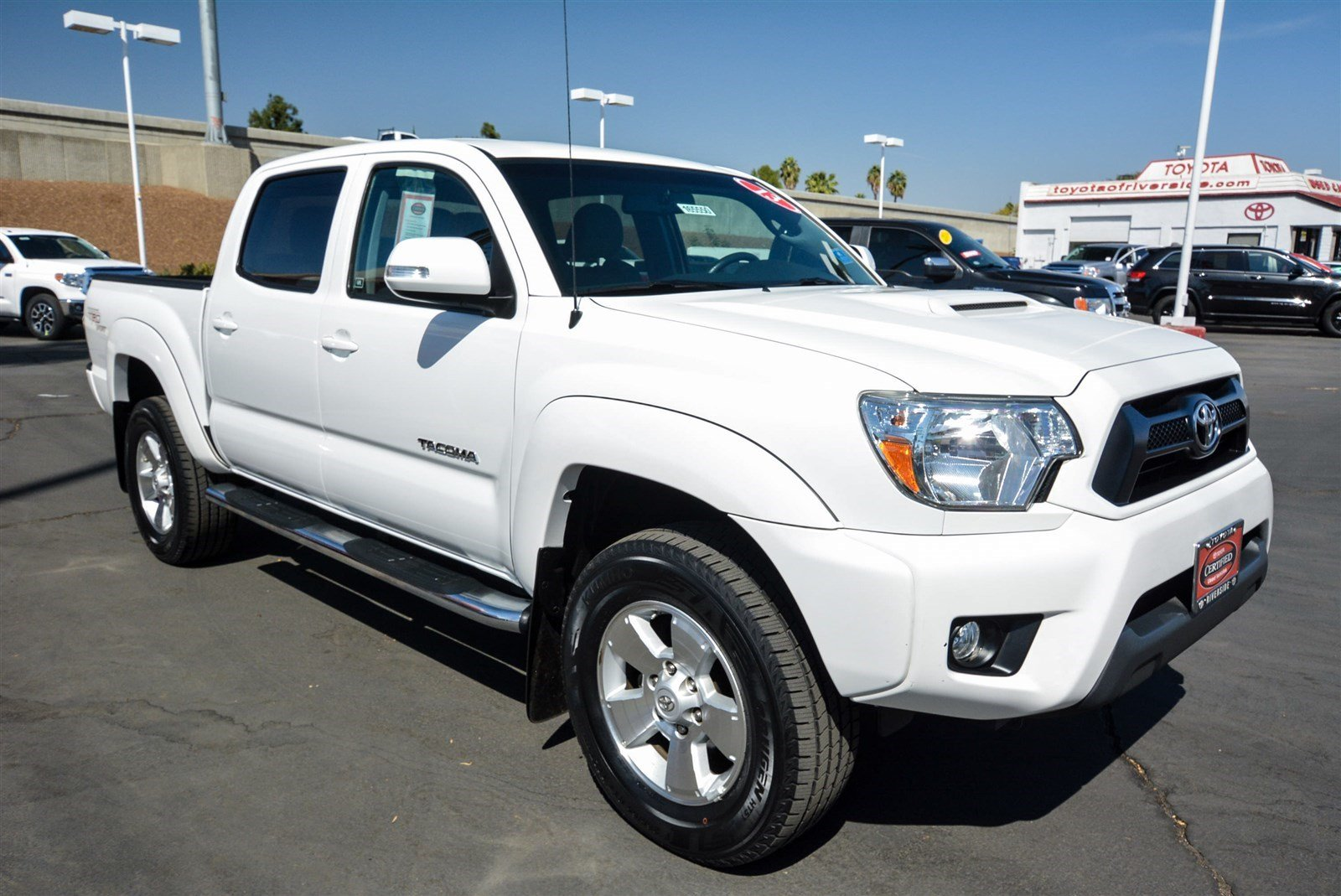certified pre owned 2013 toyota tacoma prerunner double cab in riverside 00165550 toyota of. Black Bedroom Furniture Sets. Home Design Ideas